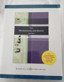 Microeconomics and Behavior - Frank