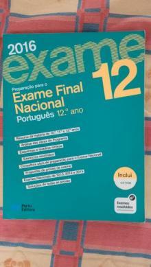 Livro Preparação Exame Português - Porto Editora