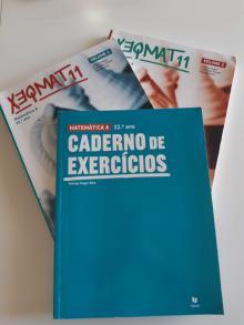 Xeqmat 11 (manuais + caderno) - Cristina Viegas