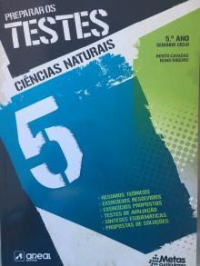 Preparar os Testes: Ciências Naturais 5 - Bento Cavadas, Nuno Ribei...