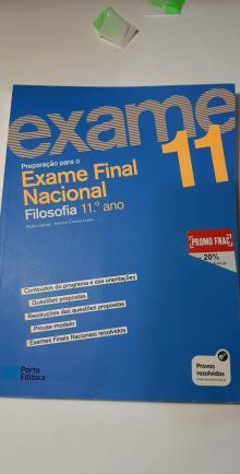 Exame Final Nacional Filosofia 11º ano - Pedro Galvão; António C...
