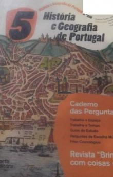 História e Geografia de Portugal - Caderno de Actiidades - Fátima Costa/António Ma...