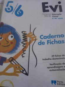 Caderno de Fichas Educação Visual Evi 5/6 - César Figueiredo/Raquel ...