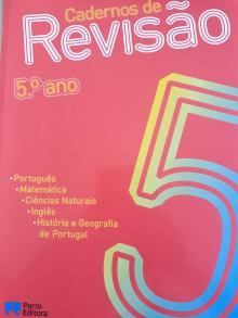 Cadernos de Revisão 5º ano - Maria da Conceição Vice...