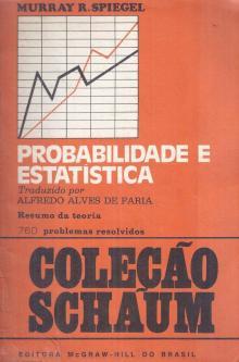 Probabilidade e Estatística - Murray R. Spiegel
