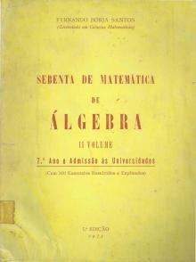 Sebenta de Matemática – II volume – Álgebra - Fernando Borja Santos