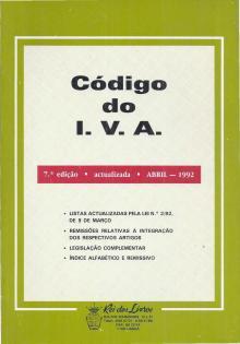 Código do I.V.A. - Rei dos Livros