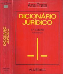 Dicionário Jurídico - Ana Prata