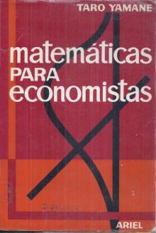 Matemáticas para Economistas - Taro Yamane