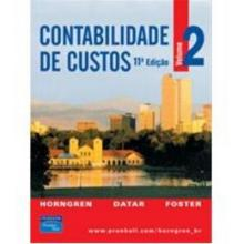 Contabilidade de Custos Vol 1 e 2 - Charles Horngren...