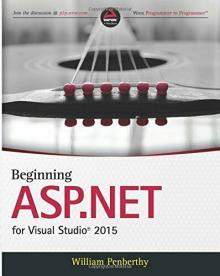 Beginning ASP.NET for Visual Studio 2015 - William Penberthy