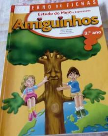 AMIGUINHOS ESTUDO DO MEIO - CADERNO DE FICHAS 3 º ANO - Alberta Rocha / Carla doi...