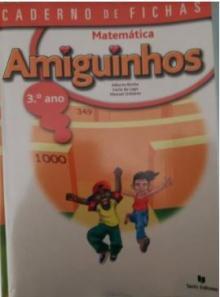 AMIGUINHOS MATEMÁTICA 3º ANO - CADERNO DE FICHAS USADO Rf 2 - Alberta Rocha, Carla do L...