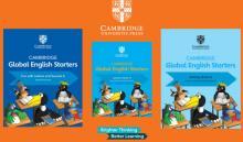 CAMBRIDGE GLOBAL ENGLISH STARTERS 3 FASCÍCULOS USADOS