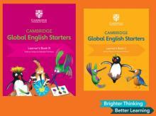 CAMBRIDGE GLOBAL ENGLISH STARTERS 2 FASCÍCULOS USADOS