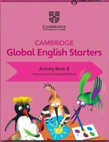 CAMBRIDGE GLOBAL ENGLISH STARTERS Activity book B USADO