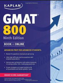GMAT 800 Ninth Edition - KAPLAN