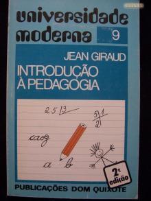 Introdução à pedagogia - Jean Giraud