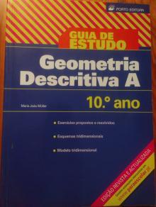 Guia de estudo: Geometria Descritiva A 10ºano - Maria João Muller