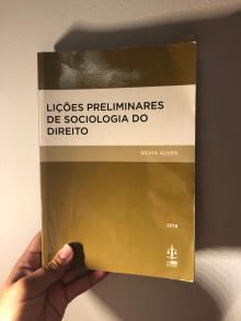 Lições preliminares de sociologia do direito - Sílvia Alves