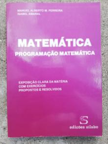 Programação Matemática - Manuel Alberto Ferreira