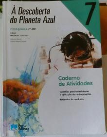 À Descoberta do Planeta Azul 7- Caderno de atividades - Noémia Maciel