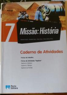 Missão: História 7 - Caderno de Atividades - Cláudia Amaral