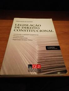 Legislação de Direito Constitucional 3a edicao - Jorge Bacelar Gouveia