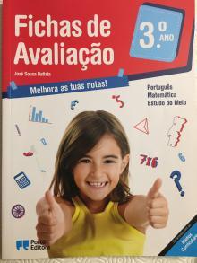 Fichas de Avaliação 3º ano - José Sousa Batista