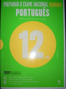 Livro Preparação para Exame Nacional Português 12º ano - Marina Roch