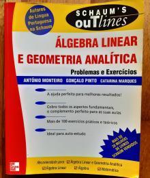 Álgebra Linear e Geometria Analítica- Problemas e Exercícios - António Monteiro, Gonça...