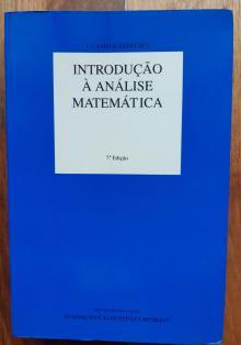 Introdução à Análise Matemática - Jaime Campos Ferreira