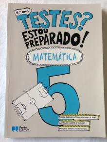 TESTES? Estou preparado! - Matemática- 5º ano - Hélder Pinto