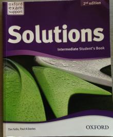 Solutions Intermediate Student´s Book - Tim Falla , Paul A. Davie...