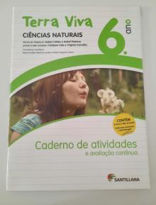Terra Viva Ciências Naturais 6º Ano - Caderno de Atividades - Isabel Caldas e Maria Isa...