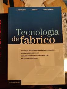 Tecnologia de fabrico - A. Completo