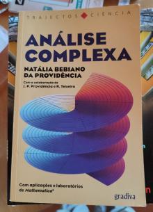 analise complexa - Natalia bebiano da provid...