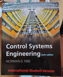 control systems engineering - Norman s. nise