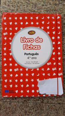 Livro de Fichas Alfa Português - Eva Lima/Nuno Barrigão/N...