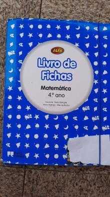 Livro de Fichas Alfa Matemática - Eva Lima/Nuno Barrigão/N...