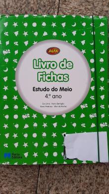 Livro de Fichas Alfa Estudo do Meio - Eva Lima/Nuno Barrigão/N...