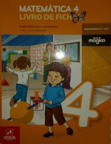 Livro de fichas de matemática - Angelina Rodrigues e Luí...