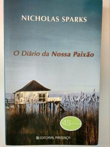 O Diário da Nossa Paixão - Nicholas Sparks