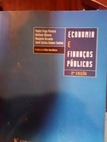 Economia e Finanças Públicas - Paulo Trigo Pereira /Ant�...