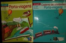 Porta Viagens com caderno de atividades - Ana Soares