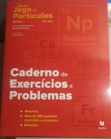 Novo jogo de partículas 12° caderno de exercícios e problemas - Maria Dantas
