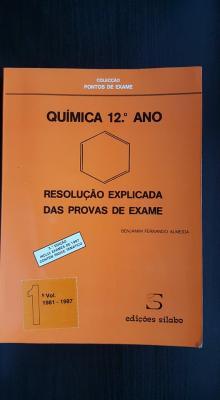 Química 12ºano - resolução explicada das provas de exame - Benjamim Fernando Almeida