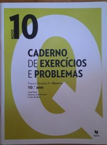 Caderno de exercícios e problemas novo 10Q Física e Química A Química - 10ºano - João Paiva; António Jos...