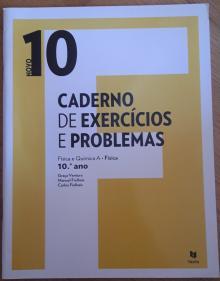 Caderno de exercícios e problemas novo 10F Física e Química A Física - 10ºano - Graça Ventura; Manuel Fi...