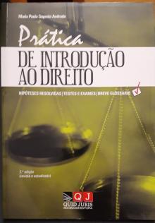 Prática de Introdução ao Direito - Maria Paula Gouveia Andra...